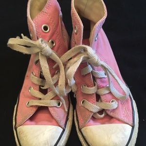 Pink High Top  Chuck Taylor Converse. Size 11
